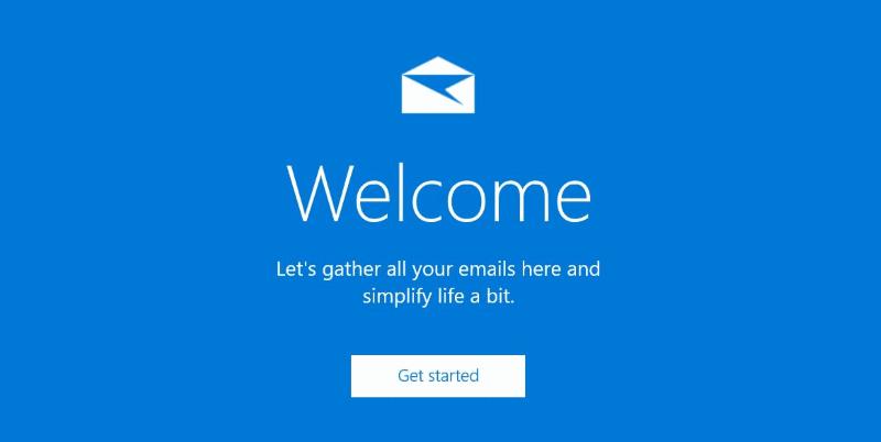 Reinstale la aplicación de correo en Windows 10