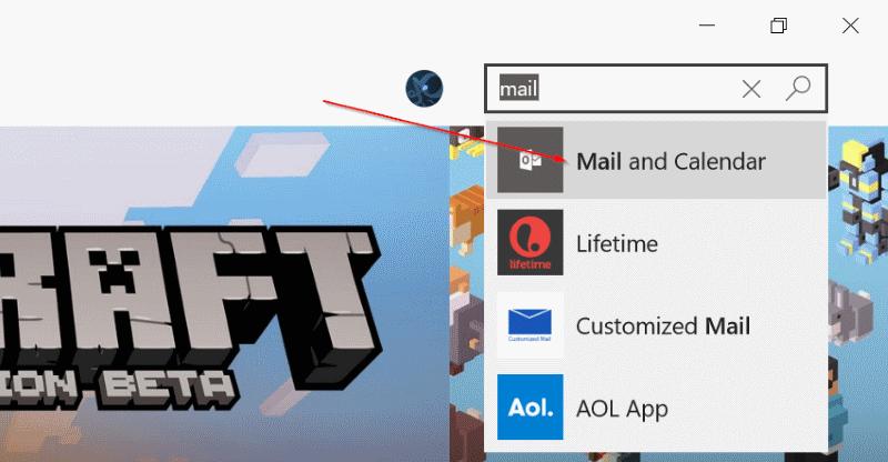 Reinstalar la aplicación Mail en Windows 10pic4