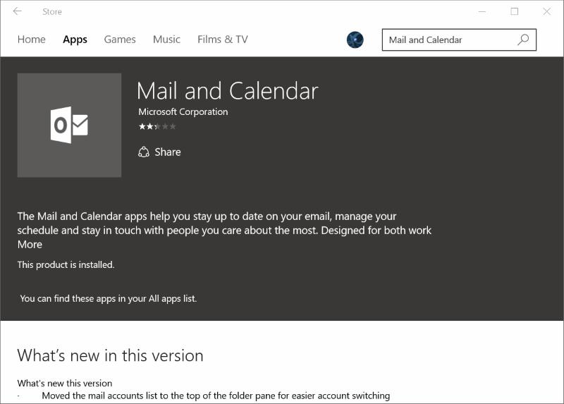 Reinstalar la aplicación Mail en Windows 10pic7