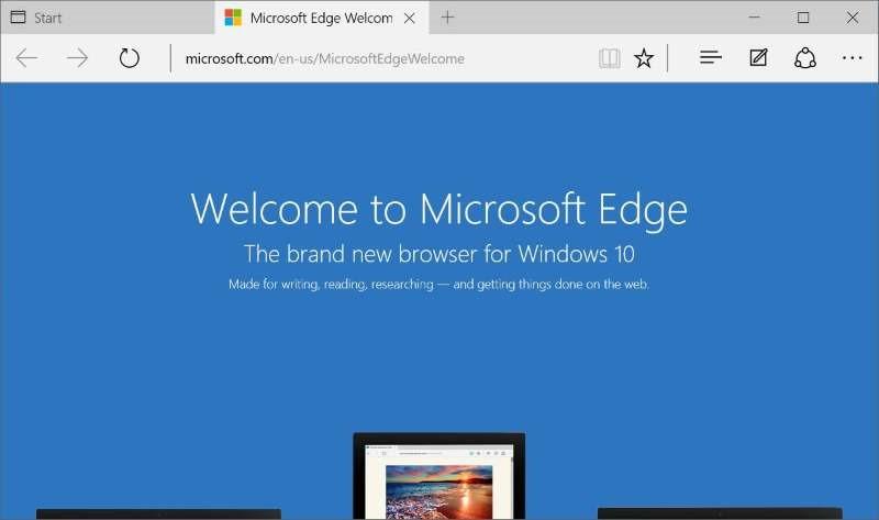 Reinstalar Microsoft Edge en Windows 10