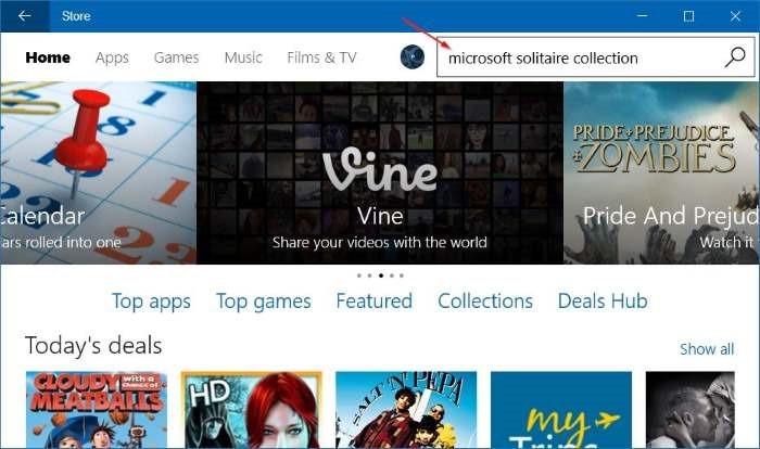 Reinstalar Microsoft Solitaire Collection en Windows 10 step4