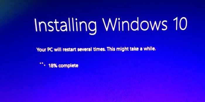 Reinstalar Windows 10 sin paso de pérdida de datos15