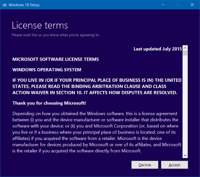 Reinstall Windows 10 without data loss step8