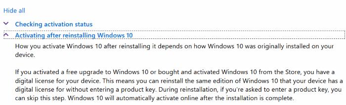 Reinstalar Windows 10 sin perder la licencia de activación2