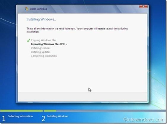 Reinstalar Windows 7 sin paso de clave de producto10