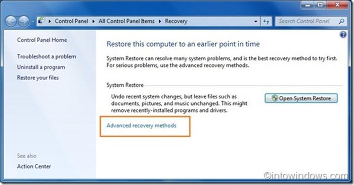 Reinstalar Windows 7 sin clave de producto step3