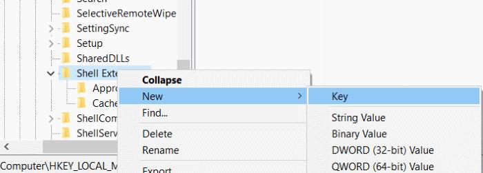 Quitar el Molde al dispositivo del menú contextual en Windows 10 step3