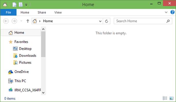 Quitar favoritos, archivos recientes y carpetas recientes de Home In Windows 10 picture5