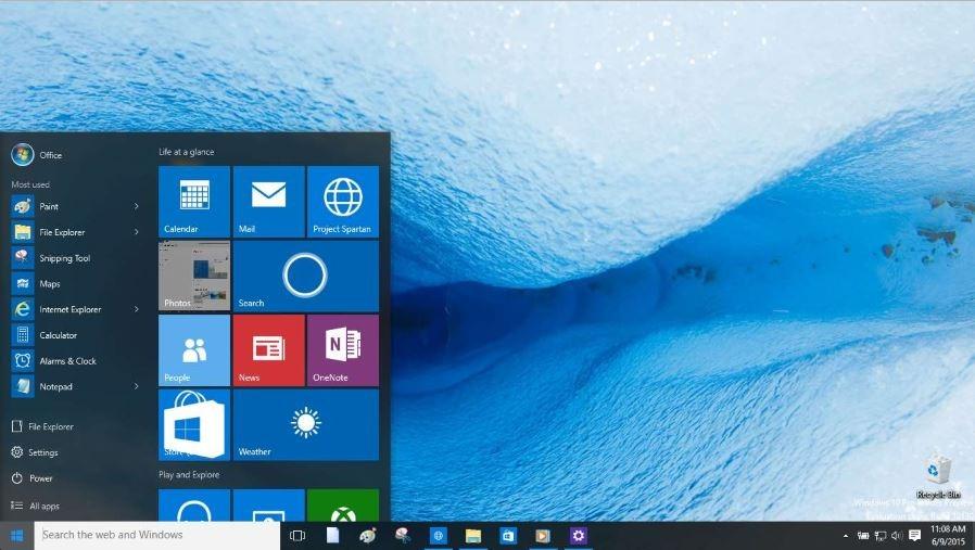 Eliminar las aplicaciones más usadas del menú Inicio en Windows 10