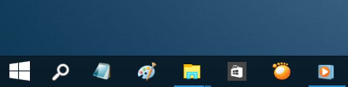 Quitar cuadro de búsqueda de la barra de tareas de Windows 10 paso 7