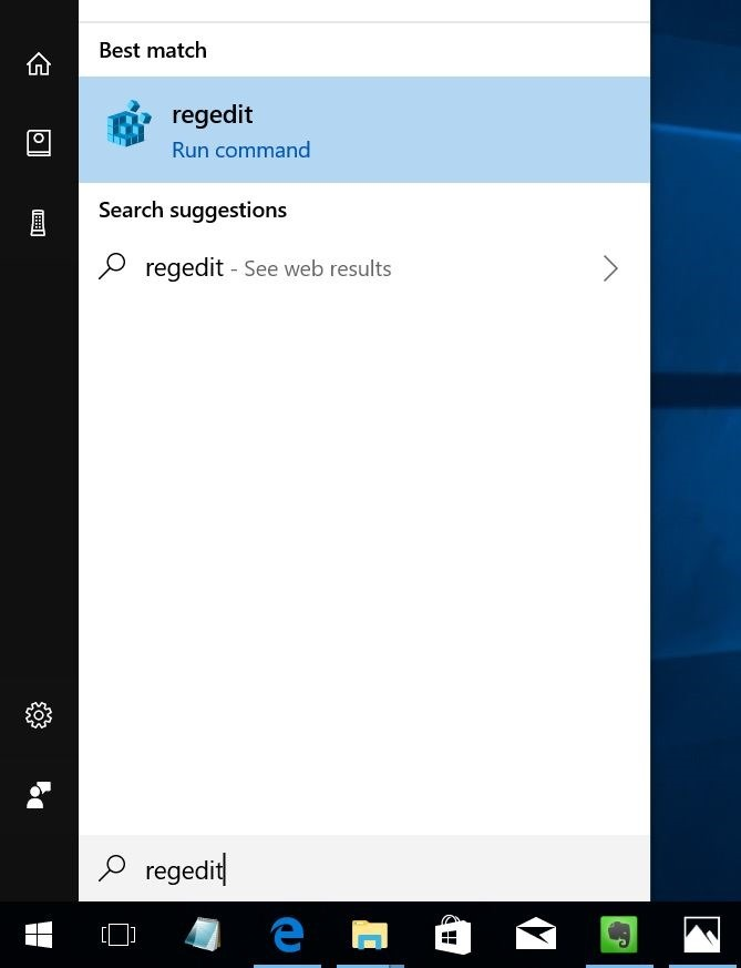Quitar Compartir del menú contextual en Windows 10 pic3