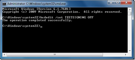 Quitar marca de agua del modo de prueba del escritorio de Windows 7 Paso 2
