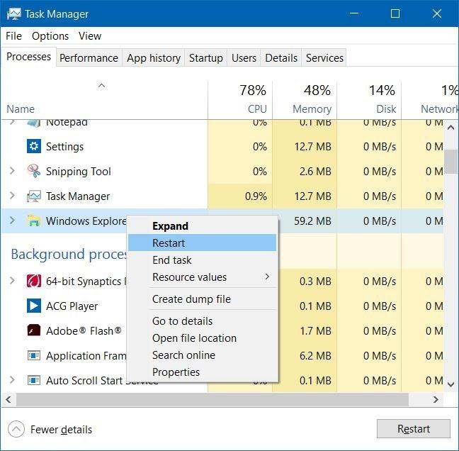 Quitar el icono del modo de vuelo del avión de la barra de tareas de Windows 10 step3