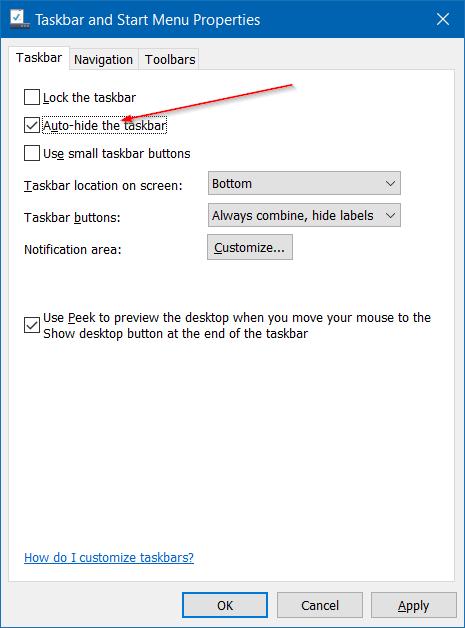 Quitar el icono del modo de vuelo del avión de la barra de tareas de Windows 10 step4