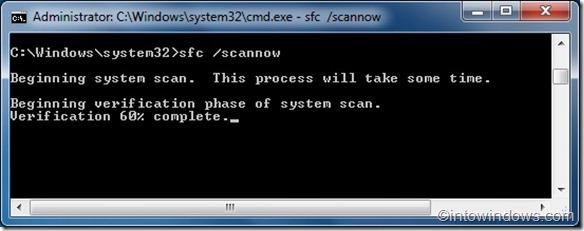 Reparar archivos del sistema