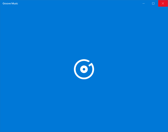 Reset Groove Music in Windows 10 pic1