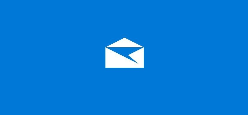 Reset Windows 10 mail app