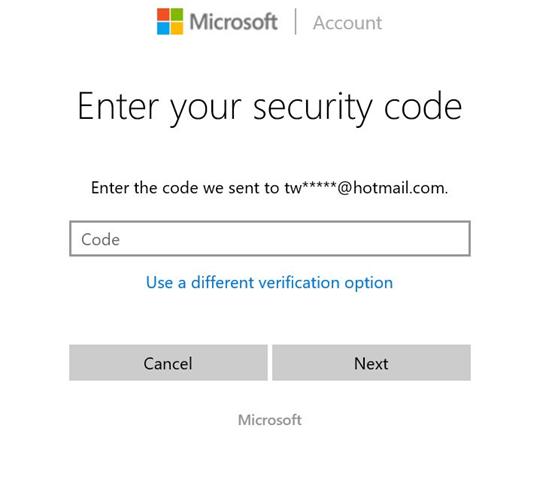 Restablecer o cambiar la contraseña de la cuenta de Microsoft Windows 10 pic10