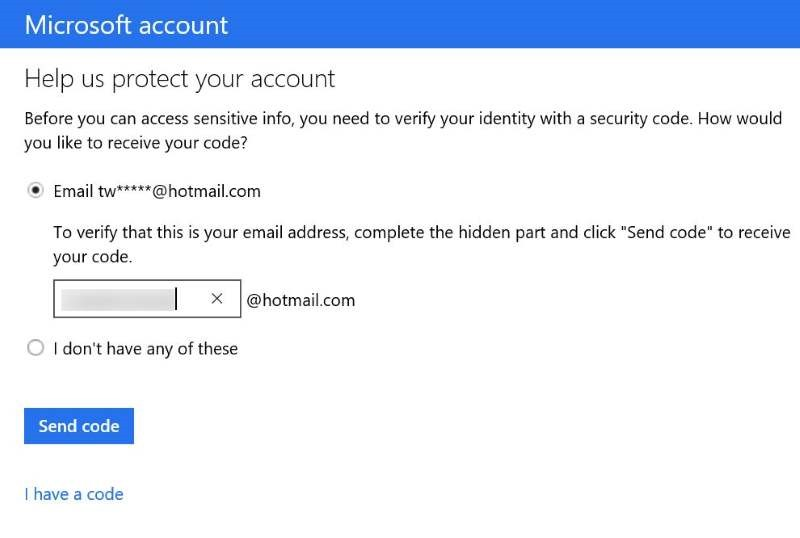 Restablecer o cambiar la contraseña de la cuenta de Microsoft Windows 10 pic17