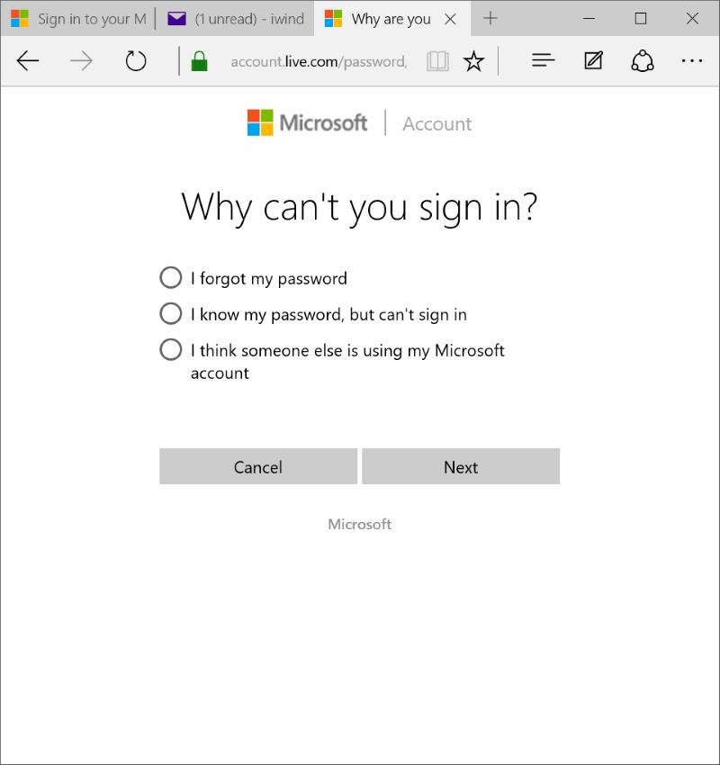 Restablecer o cambiar la contraseña de la cuenta de Microsoft Windows 10 pic8.jpg