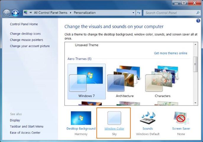 Redimensionar iconos de escritorio en Windows 7 y Windows 8 picture2