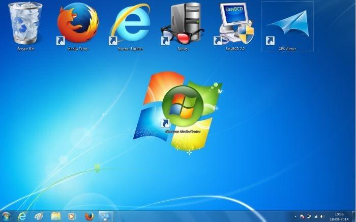 Redimensionar iconos de escritorio en Windows 7 y Windows 8 picture3