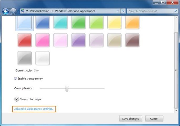 Redimensionar iconos de escritorio en Windows 7 y Windows 8 picture5
