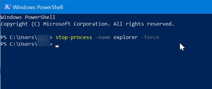 Reiniciar el Explorador de archivos de Windows en Windows 10 pic3