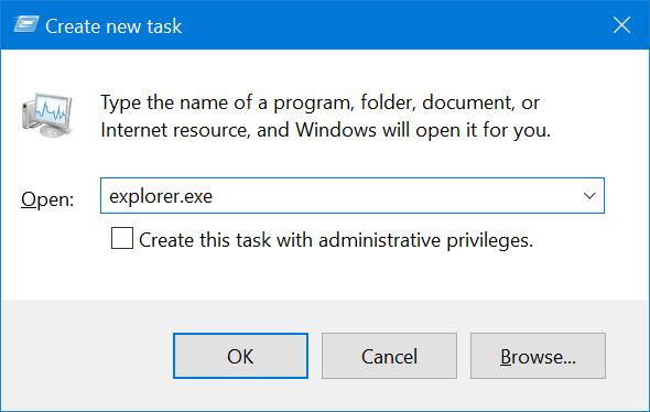 Reiniciar el Explorador de archivos de Windows en Windows 10 pic6