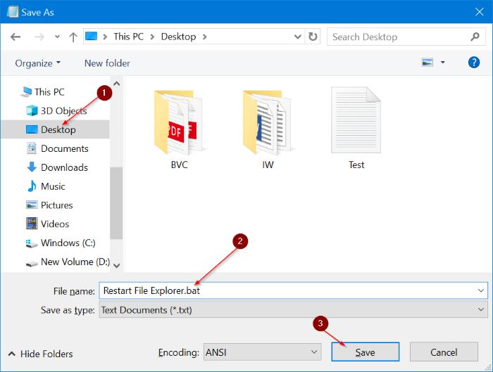 Reiniciar el Explorador de archivos de Windows en Windows 10 pic9