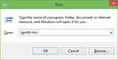 Restricción de la presentación del menú Inicio en Windows 10 step1