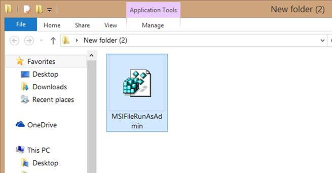 Ejecutar archivo MSI como administrador