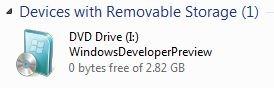 Run Windows 8 From USB step