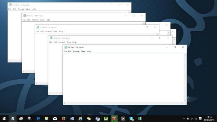 Ejecutar otra instancia de un programa en Windows 10