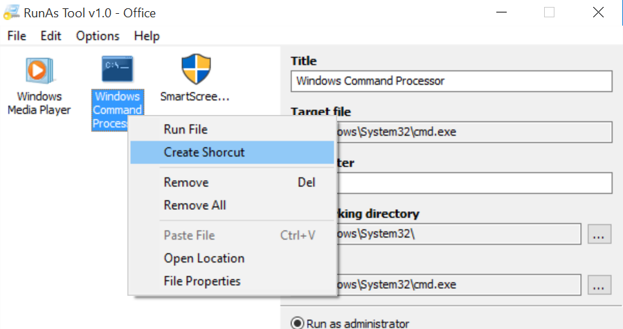 Ejecutar programas como administrador sin contraseña Windows 10 (4)