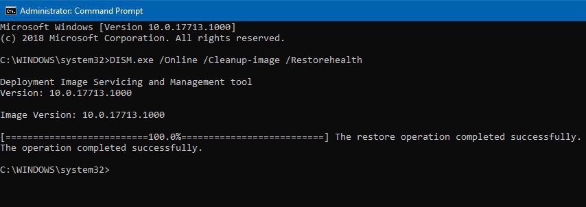 Ejecutar el inspector de archivos del sistema para reparar archivos dañados o perdidos Windows 10 (2)