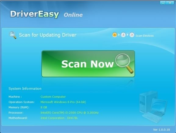 Scan PC Online for drivers Picture2
