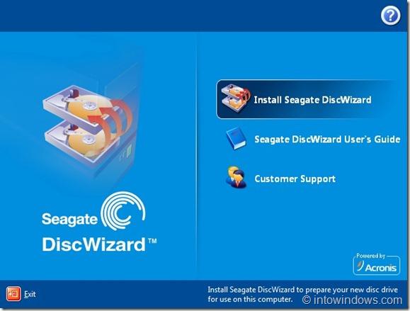 Seagate DiscWizard free