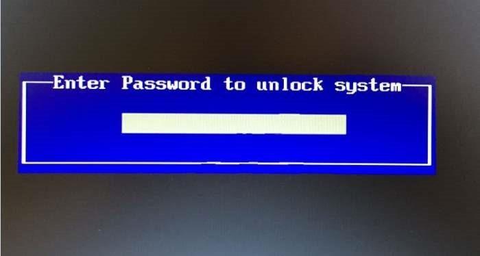 Set BIOS UEFI password in Windows 10 pic1