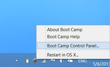 Set Windows as default OS in Mac Boot Camp