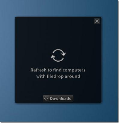 Compartir archivos entre imágenes de Windows y Mac