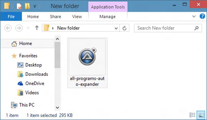 Mostrar todos los programas por defecto en la imagen del menú Inicio 01