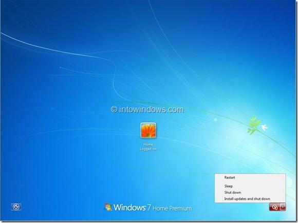 Apagar Windows sin instalar actualizaciones