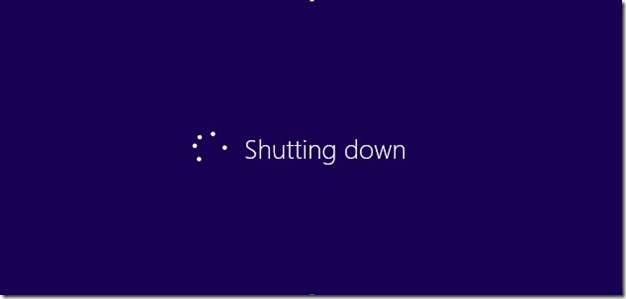 Shutdown Windows 8 quickly