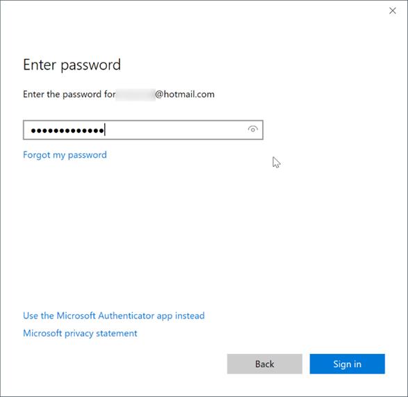 Iniciar sesión o cerrar sesión en notas adhesivas en Windows 10 pic3