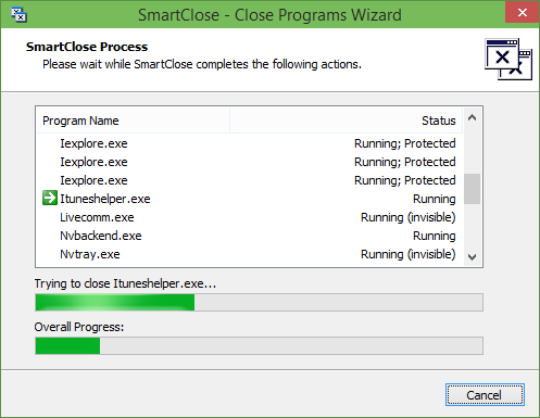 SmartClose to quickly close and open all programs picture3