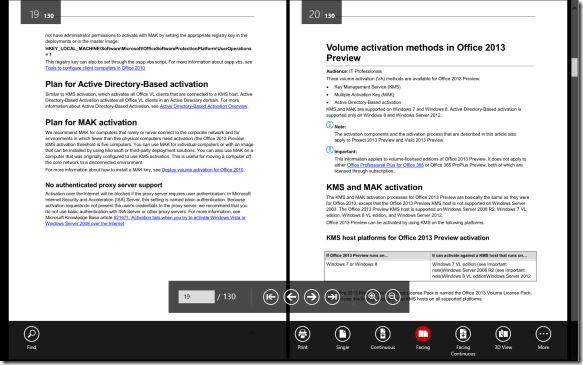 Soda 3D Reader Mejor lector de PDF para Windows 8