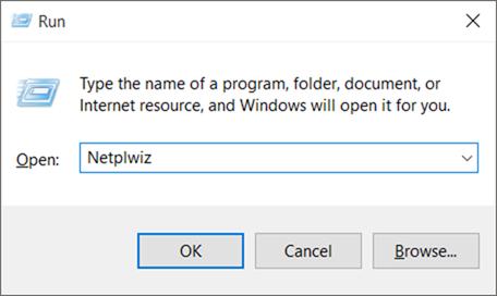 Cuenta estándar para la cuenta de administrador Windows 10 pic1