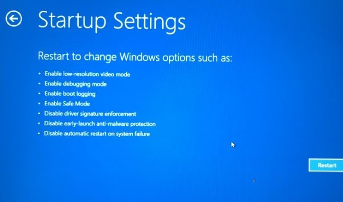 Iniciar Windows 10 en modo seguro pic4