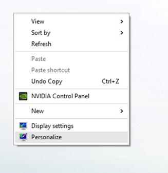 Configuración del menú Inicio Windows 10